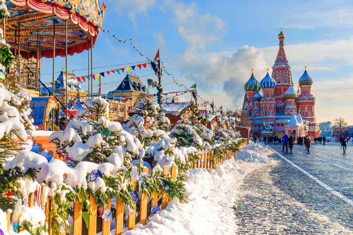 Russian Christmas For 2020 Here Is Where You Should Spend Christmas In Russia In 2020