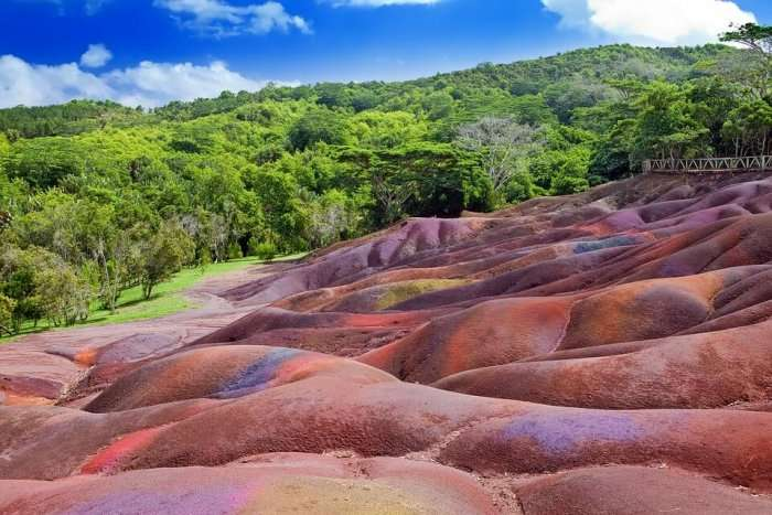 colorful land of chamarel
