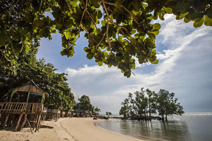 Sugi Island In Indonesia