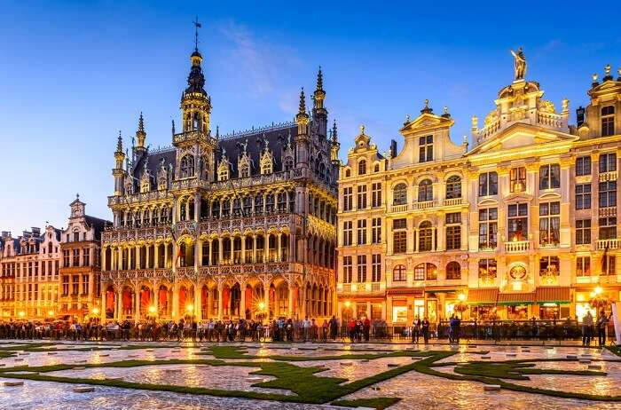 romantic sites in brussels