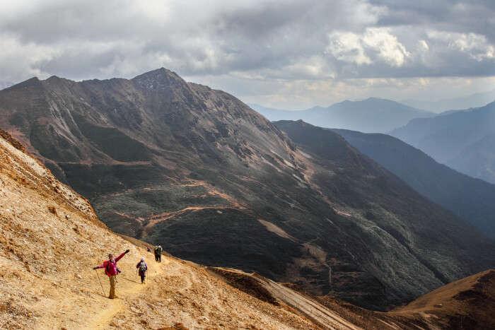 Most famous Bhutan Mountains