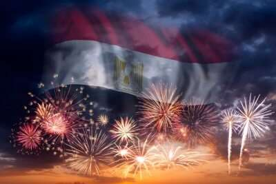 Entertaining New Year In Egypt
