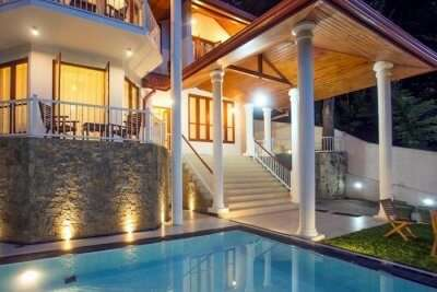 popular luxury villas in Kandy