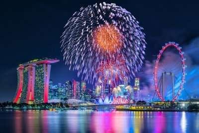 new year celebration in singapore