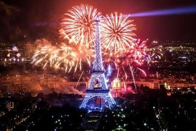 Fabulous New Year In Paris and Eiffel Tower