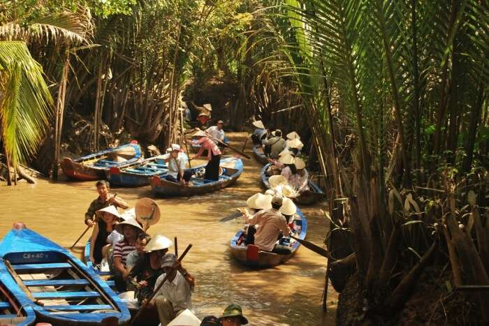 How to reach Mekong Delta