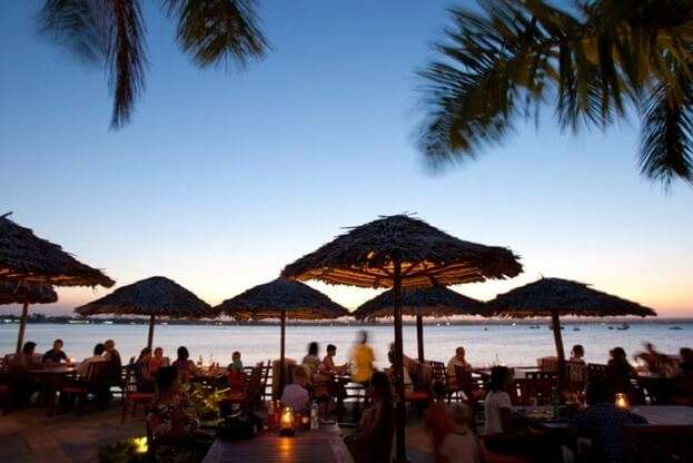 The Waterfront Sunset Restaurant and Beach Bar