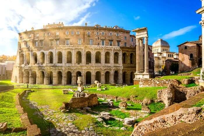 roman structures and buildings cover