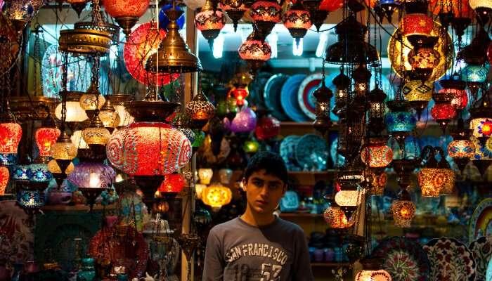 shopping Turkey