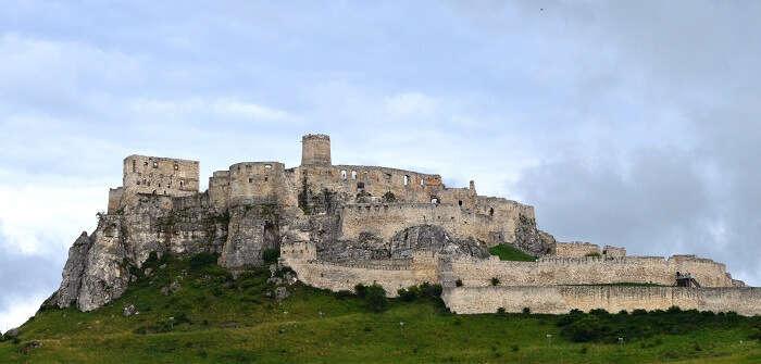 A view of Spis castle