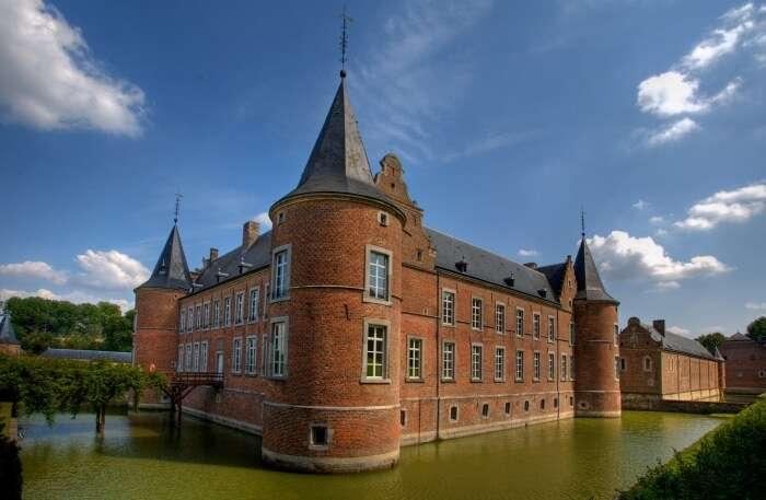 Alden Biesen Castle view