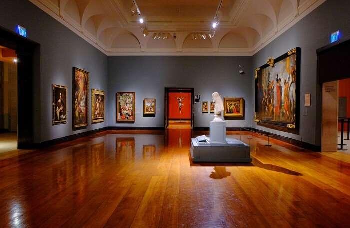 Art Gallery view
