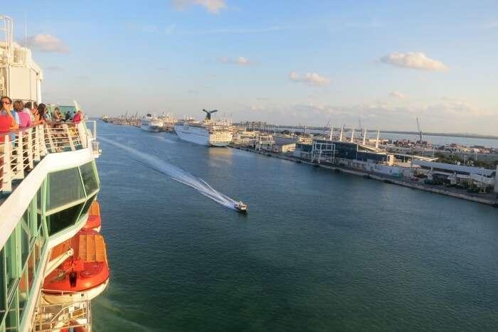 Boat Ride Along Downtown Miami