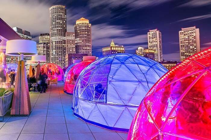 Boston's New Rooftop Igloo Bar: Here's Why You Must Visit It!