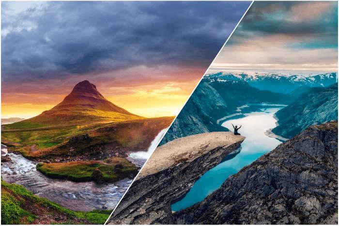 norway vs iceland