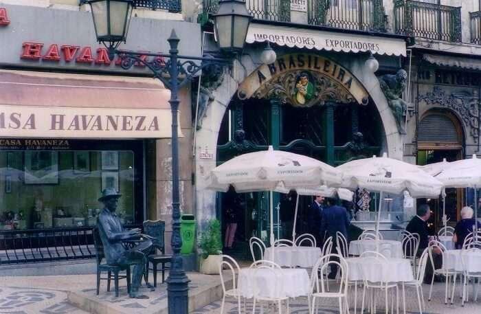 Café A Brasilleira in Lisbon