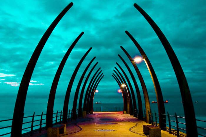 Umhlanga pier Durban South Africa