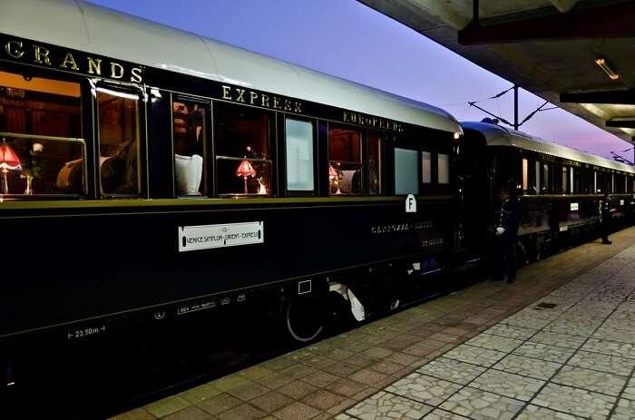 world's famous venice simplon on platform