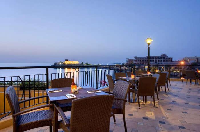 Da Marina Restaurant in Malta