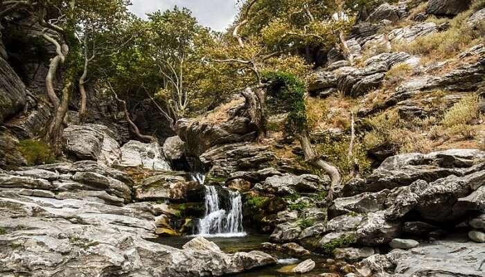 Dimosari Waterfall View