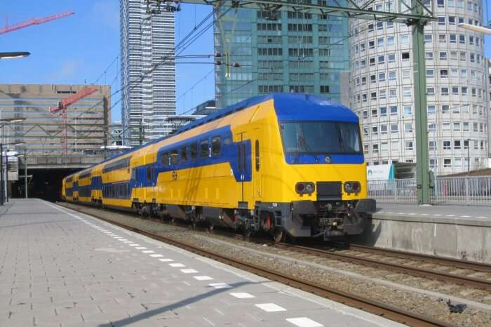 Get on to the Dutch Trains
