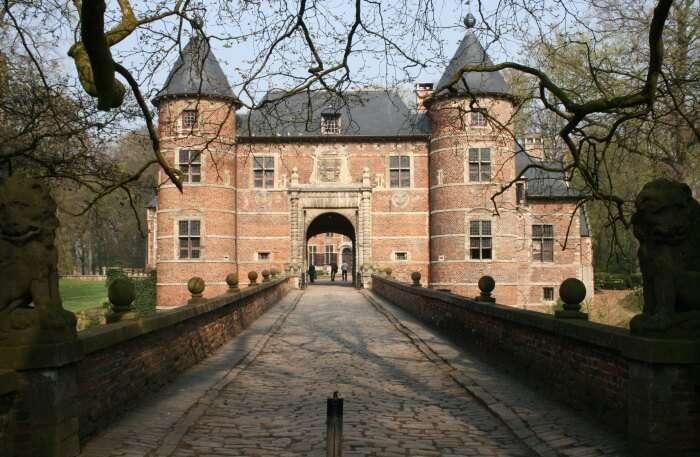 Groot- Bijgaarden Castle view