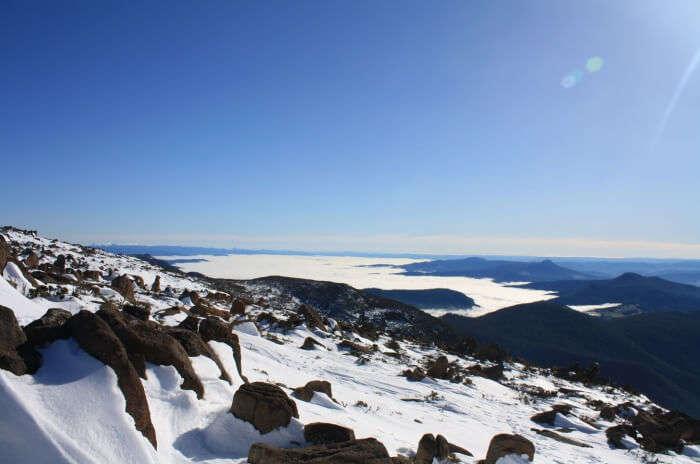 Hike up Mount Wellington