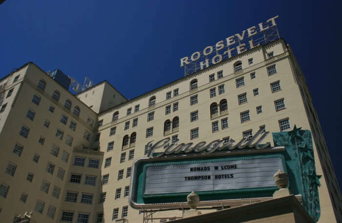 Hollywood Roosevelt in Los Angeles