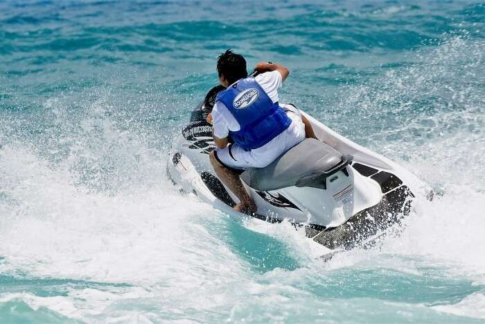Indulge in watersports