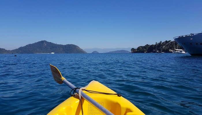 Jungle kayaking