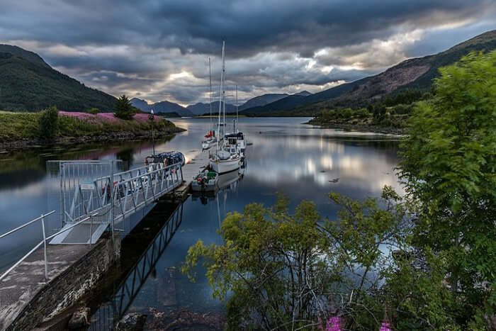 Loch Leven Lakes Trailhead
