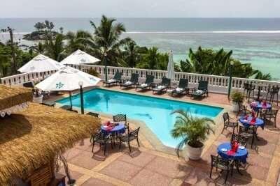 Mahe Beach Hotel in Seychelles