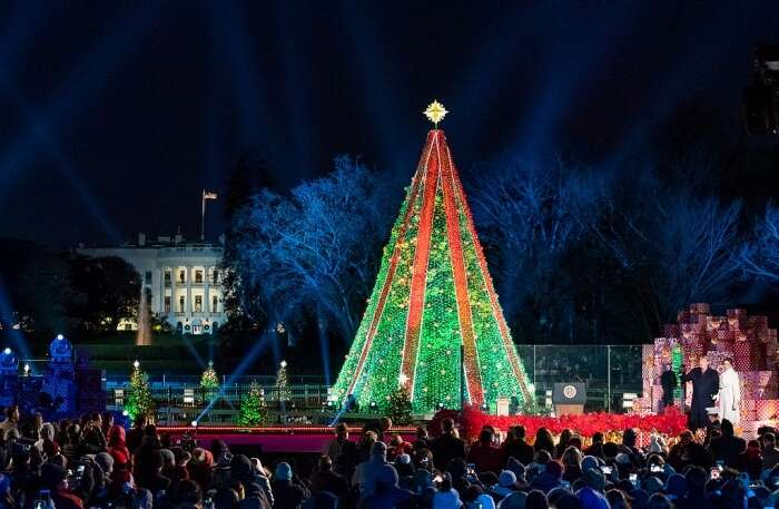 National Christmas tree lighting festival