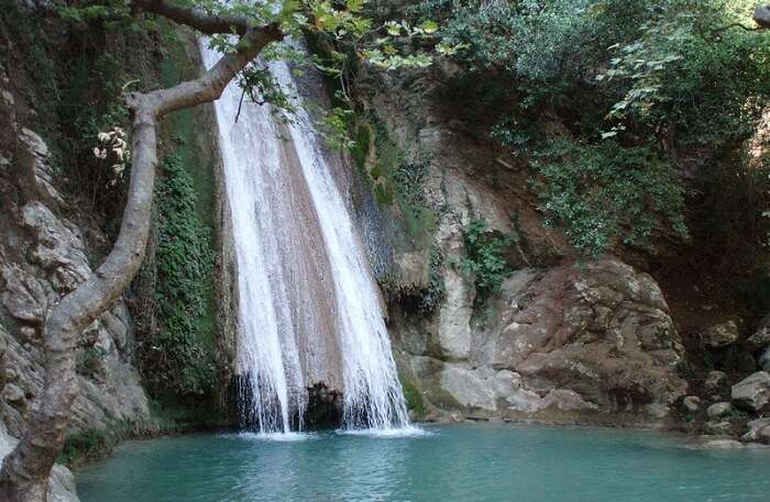 Nedas Waterfall