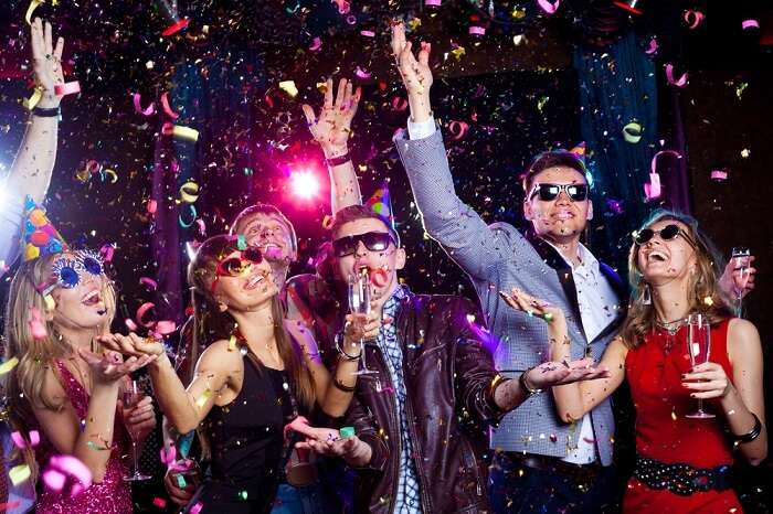 New Year Party In New York Cover