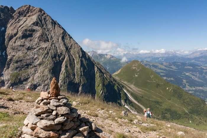 La Digue's tallest peak