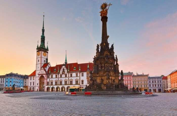 Olomouc in Czech Republic