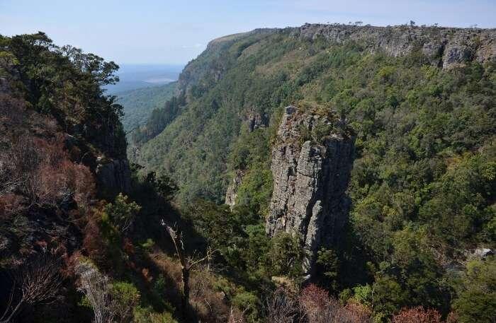 Pinnacle Rock view
