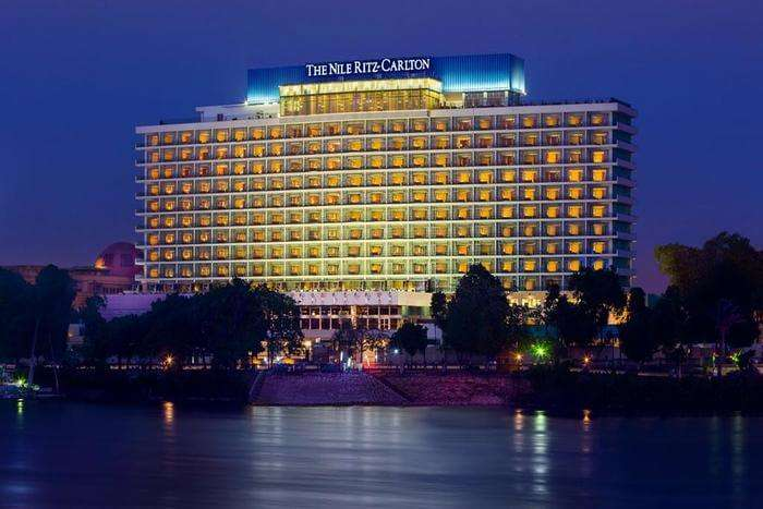 Ritz Carlton Hotel outer view