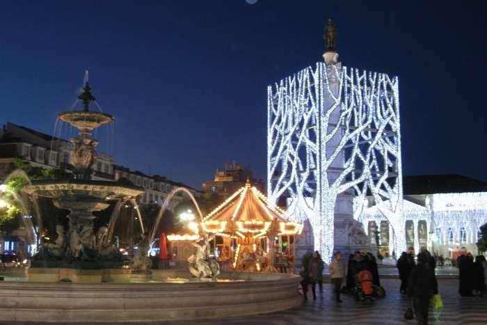 Rossio Square Christmas Market