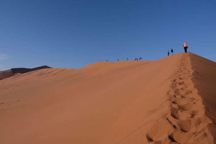 Sahara Desert Hiking