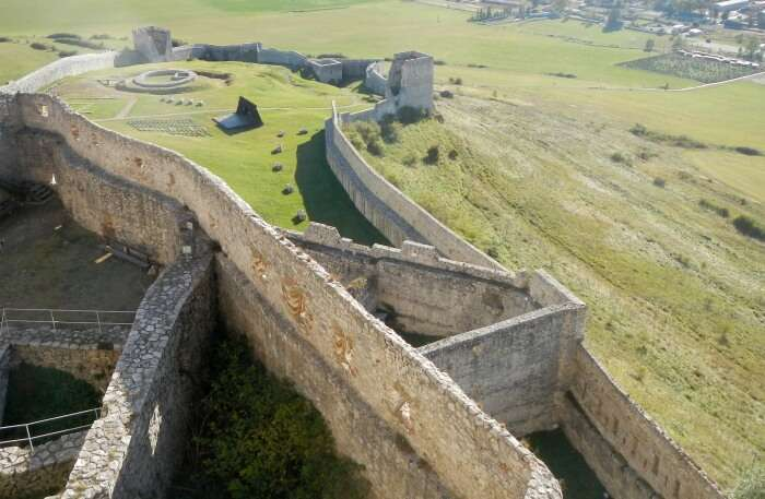 Spiš Castle view