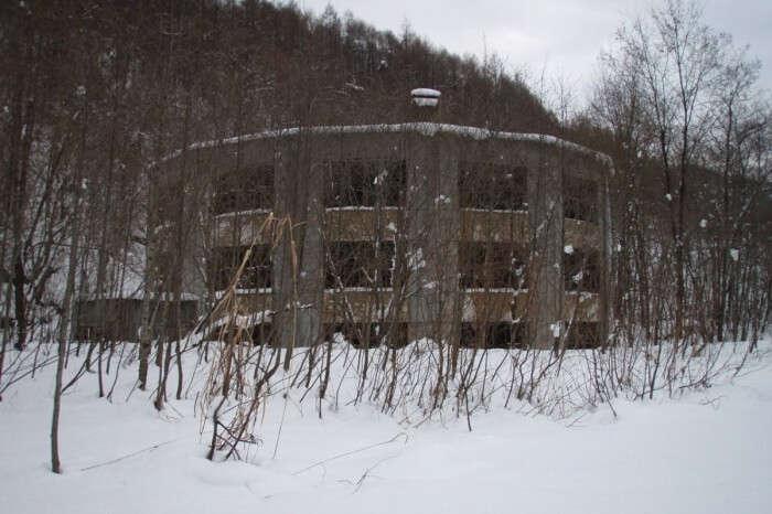The Creepy Round Schoolhouse at Bibai