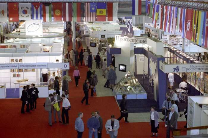 The International Book Fair of Moscow
