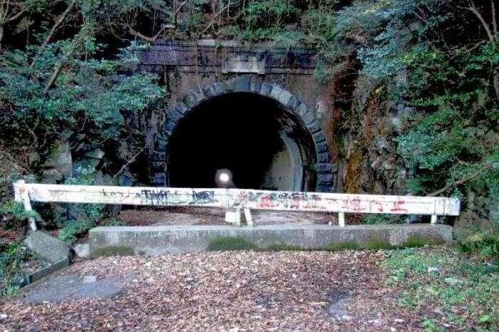 The Whispering Inukane Pass Tunnel at Fukuoka