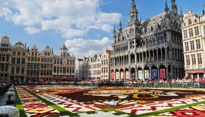 Europe Brussels Grand Place Belgium Travel