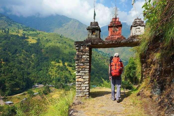 trekking guy