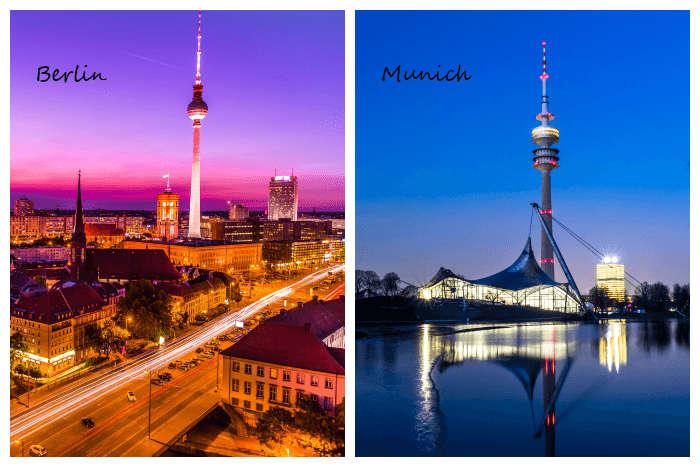 berlin vs munich