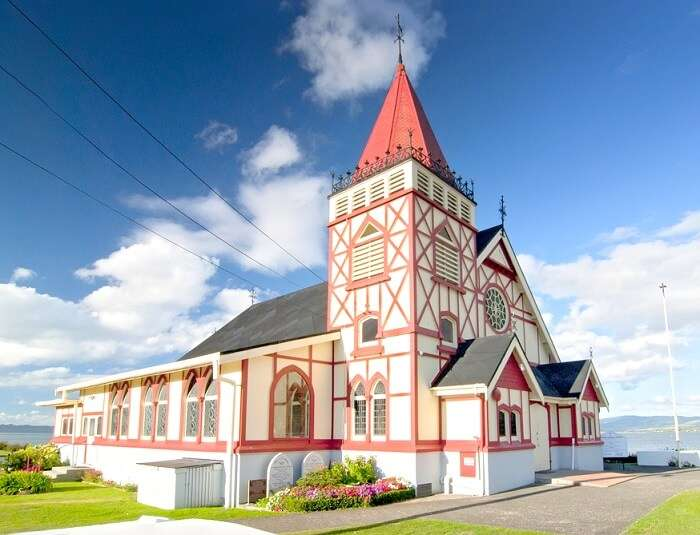 A church in Auckland