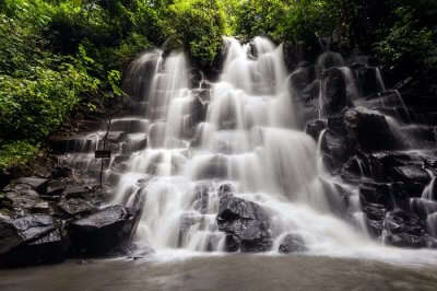 Amazing Kanto Lampo Waterfall In Bali